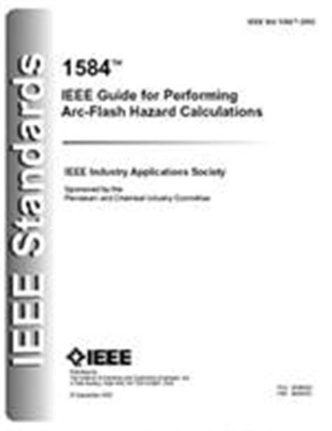 IEEE 1584 – Guide For Arc Flash Hazard Analysis - JK Ross