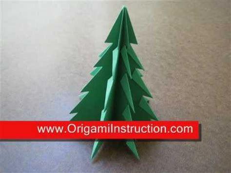 step by step christmas tree oragami wiki with pics origami tree 1