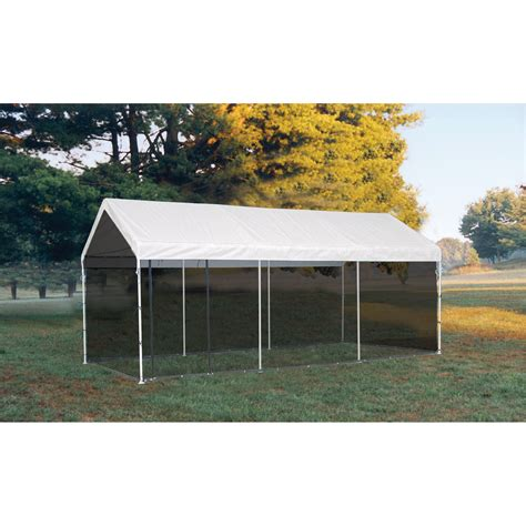 canopy with screen shelterlogic maxap outdoor canopy tent with screen house