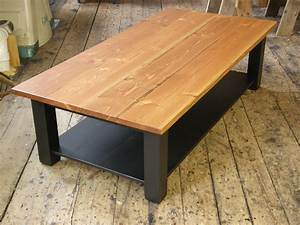 Coffee Table Construction - Chestnut Sparrow Coffee Table