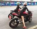寶島機車妹騎車從來都是穿熱褲超短裙,但生活中其實是乖寶寶 - 每日頭條