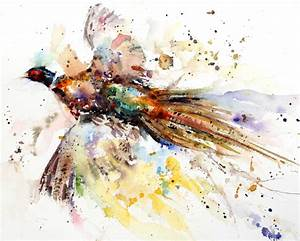 8 Best Images of Watercolor Paintings Of Animals - Black ...