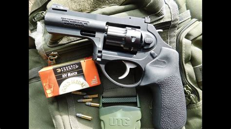 Ruger LCRx 22 LR Revolver--Shooting Review - YouTube