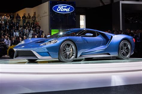 Ford Gt Supercar To Cost £250,000, Just 250 A Year