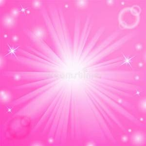 Christmas Background Pink Abstract Magic Light Background Stock Vector