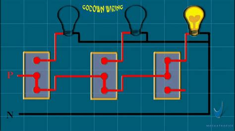 godown wiring experiment light wiring 02 youtube