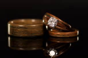 wood wedding rings try this wooden engagement rings for womens engagement rings