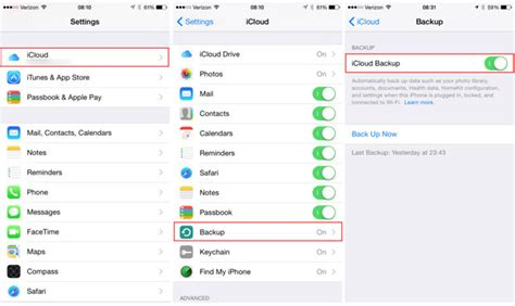 how do you backup iphone how to backup your iphone to apple s icloud