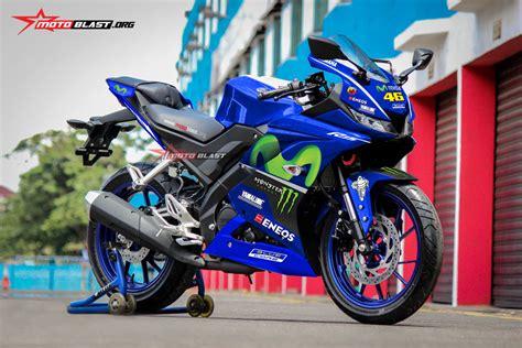 inilah 3 modifikasi striping all new yamaha r15 movistar motogp 2017 motoblast
