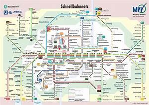 Mvv München Plan : s und u bahn plan m nchen ~ Buech-reservation.com Haus und Dekorationen