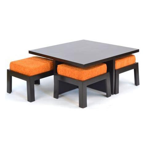 Safron Coffee Table With Four Stools  Skarabrand. Under Desk Computer Mount. Cool Desk Designs. Century Furniture Desk. Replacement Drawer
