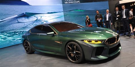 The Bmw Concept M8 Gran Coupe Forecasts A New M Flagship