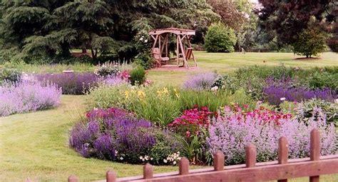 custom garden designs  english gardens