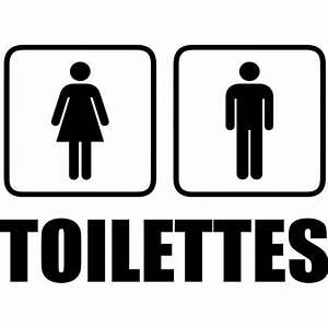 Sigle Homme Femme : sticker toilettes homme femme stickers toilettes porte ~ Melissatoandfro.com Idées de Décoration