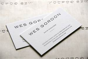 Raised lettering business cards embossed business cards for Business cards embossed lettering