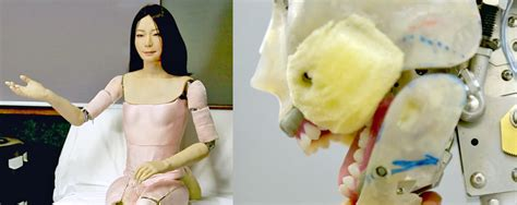Human Or Machine? Life-like Android Robots From Japan Show