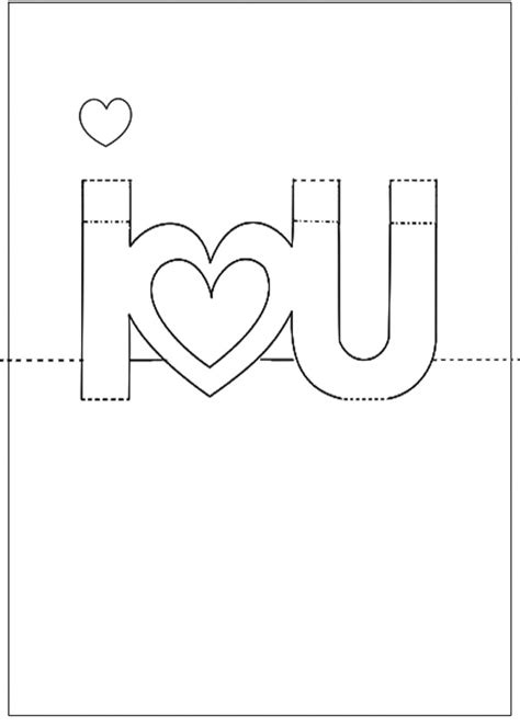 s day card template diy template for s day pop up card