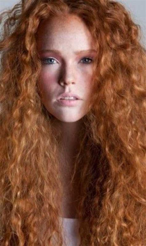 20 Long Red Curly Hair Hairstyles And Haircuts Lovely
