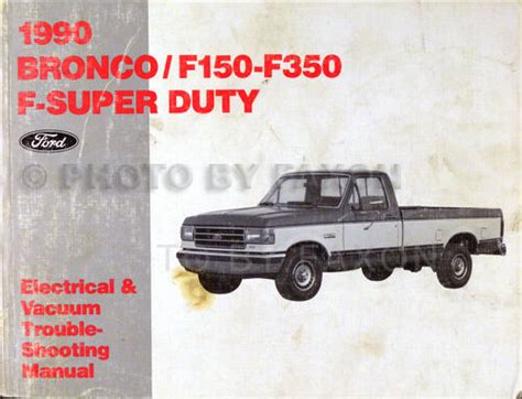 car engine manuals 1986 ford courier electronic throttle control 1990 ford pickup electrical troubleshooting manual bronco f150 f250 f350 truck ebay