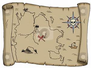 Pirate scroll template for Pirate scroll template