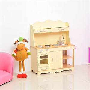 Homcom Children's Role Play Kitchen | Large Wooden Cooker ...