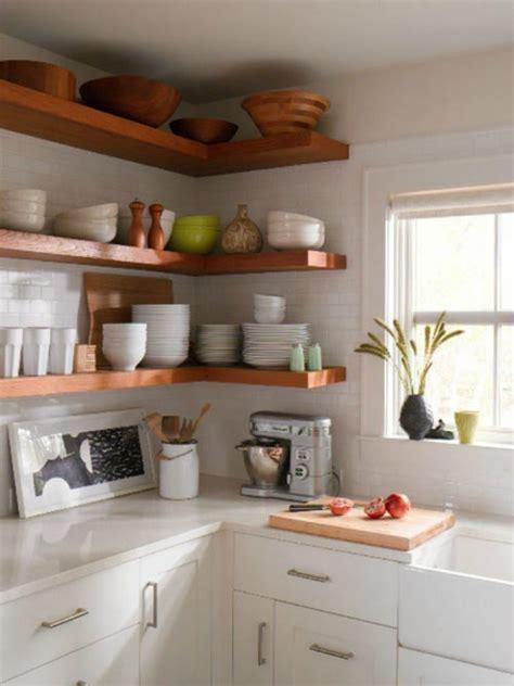 kitchen wall storage ideas 65 ideas of open kitchen wall shelves shelterness