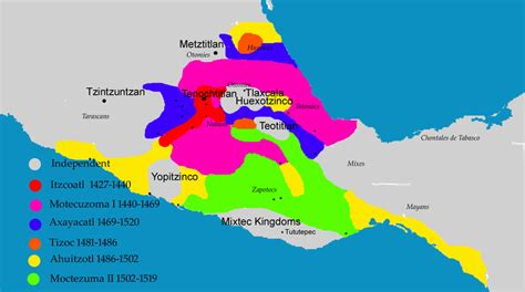 Overview Of The Aztec Empire