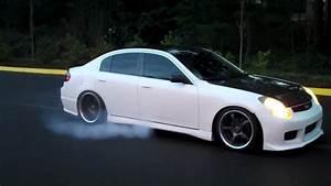 2004 Infiniti G35 Sedan Burnout