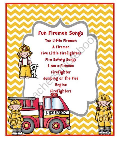 firefighter preschool 25 best ideas about fireman song on 118