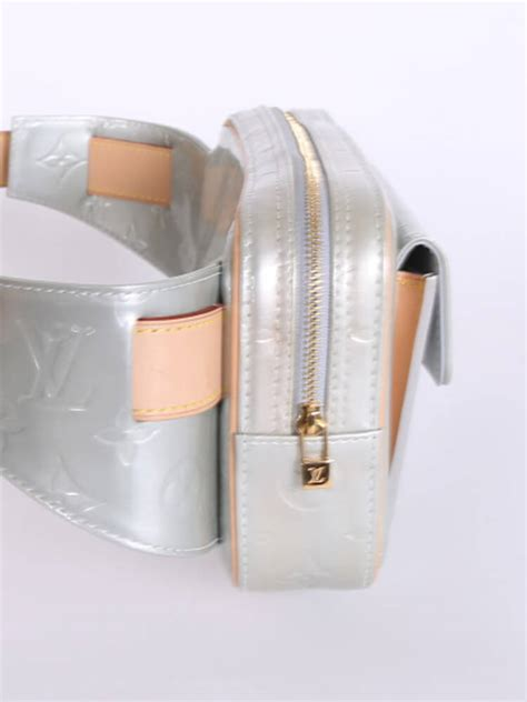 louis vuitton fulton monogram vernis leather belt bag