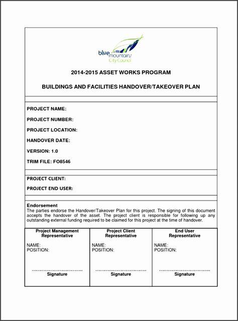 project handover template sampletemplatess