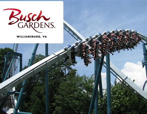 bush gardens virginia busch gardens va packages garden ftempo