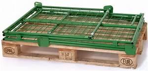 Paletten Günstig Kaufen : gitter aufsatzrahmen nutzh he 1200 mm f r euro paletten g nstig kaufen stapler profishop ~ Orissabook.com Haus und Dekorationen