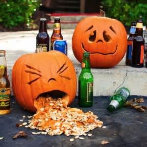 Pumpkin Template Throwing Up by Calvin And Hobbes In The Real World