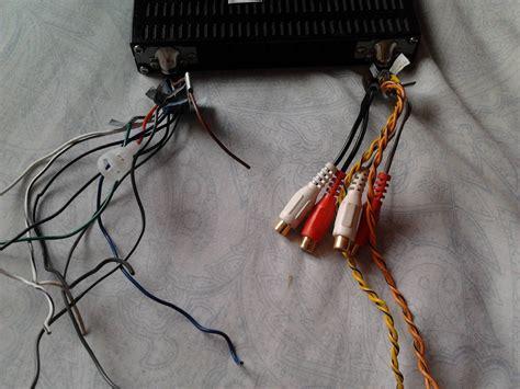 como conectar un ecualizador ava1404 a un sony xplod