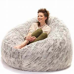 Jaxx, 6, Foot, Cocoon, -, Large, Bean, Bag, Chair, For, Adults, Premium, Luxe, Faux, Fur