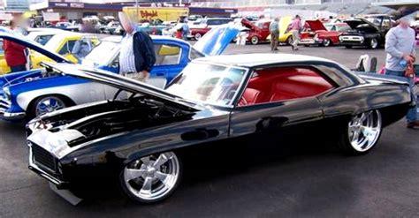 1969 chevy camaro pro touring muscle car custom interior cars