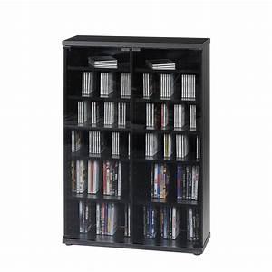 Dvd Schrank Mit Türen : cd und dvd schrank cs 95 schwarz mit grauglast ren home24 ~ Bigdaddyawards.com Haus und Dekorationen