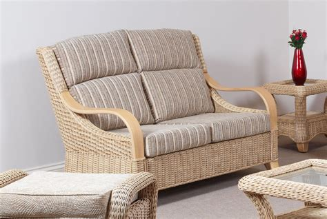 Conservatory Settee by Conservatory Furniture Wicker Two Seater