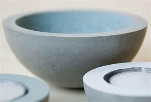 Schalen Aus Beton : neue deko aus beton diy frau fadenschein ~ Lizthompson.info Haus und Dekorationen