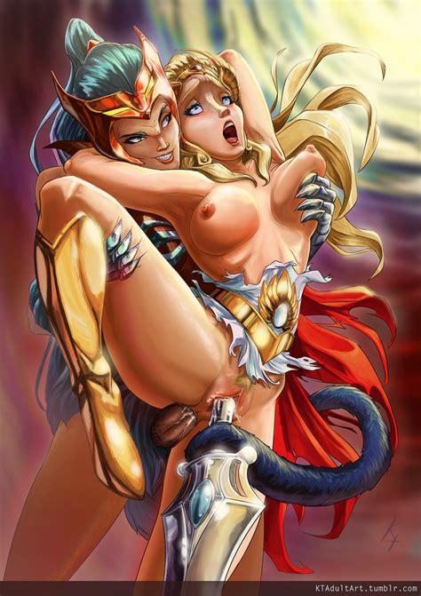 rule 34 anal anal sex breasts catra female futa on