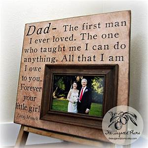 father of the bride parents thank you gift personalized With gifts for dad for wedding from daughter