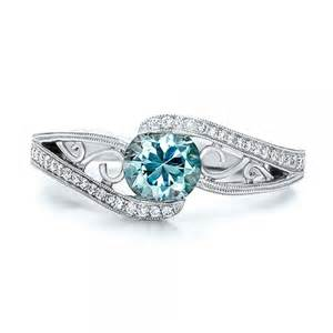 engagement rings blue blue engagement rings quotes