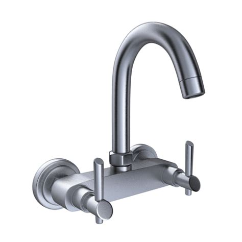 buy immacula sink mixer with swivel spout wall mounted