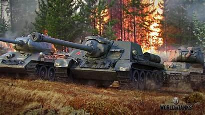 Tanks Tank Soviet Rush Forest Desktop 1080p