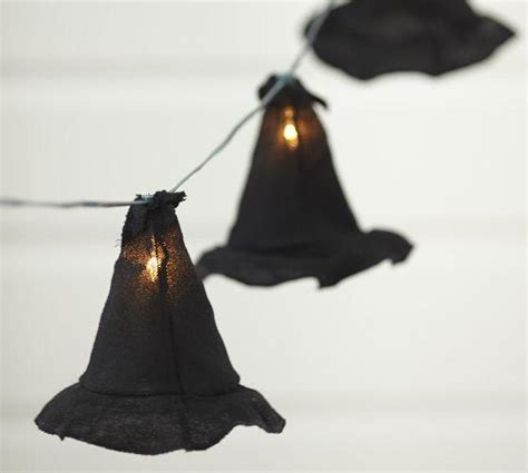 witch hat string lights pottery barn