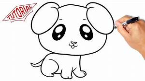 How to draw a puppy (dog). Very simple. Easy step-by-step ...