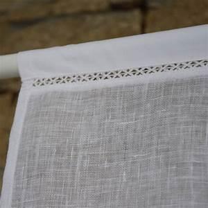 Brise Bise Au Metre : brise bise la baule gaze de lin blanc maison d 39 t ~ Dailycaller-alerts.com Idées de Décoration