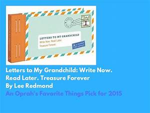 edita kaye celebrating grandparents With letters to my grandchild write now read later treasure forever