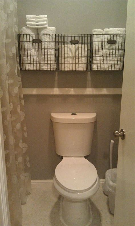 Small Space Bathroom Storage by 43 The Toilet Storage Ideas For Space In 2019